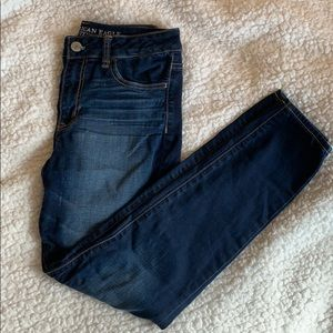 American Eagle High-Rise jeggings